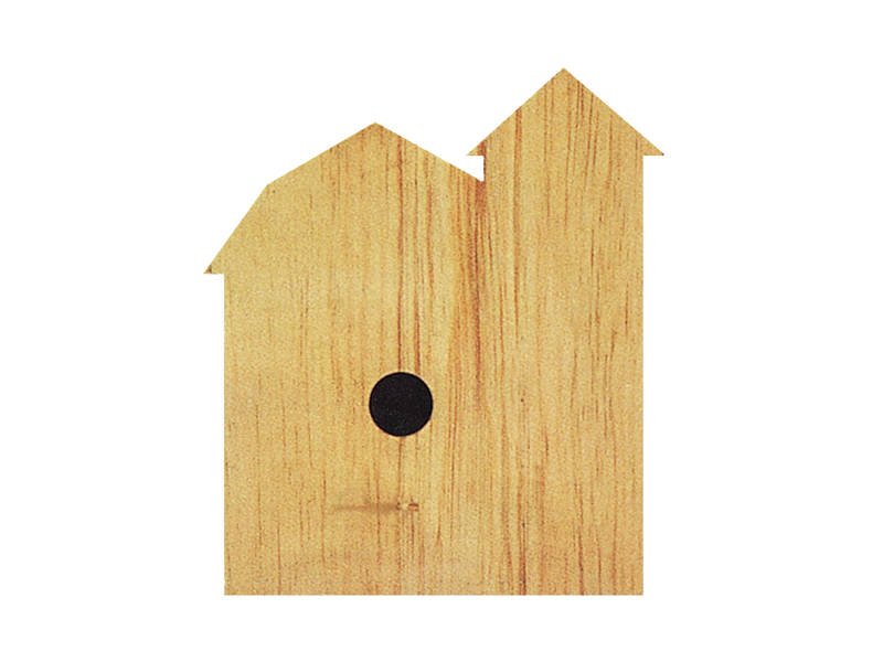 Building Plans Front of Home Barn Bird House