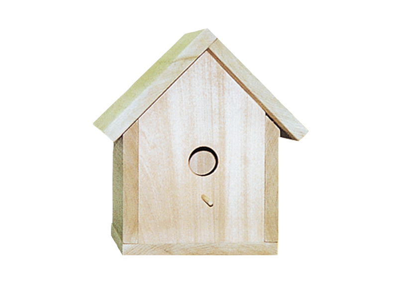 Country Plan Front of Home Traditional Bird House