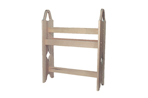 Building Plans Front of Home Quilt Rack Woodworking 002D-1516 | House Plans and More