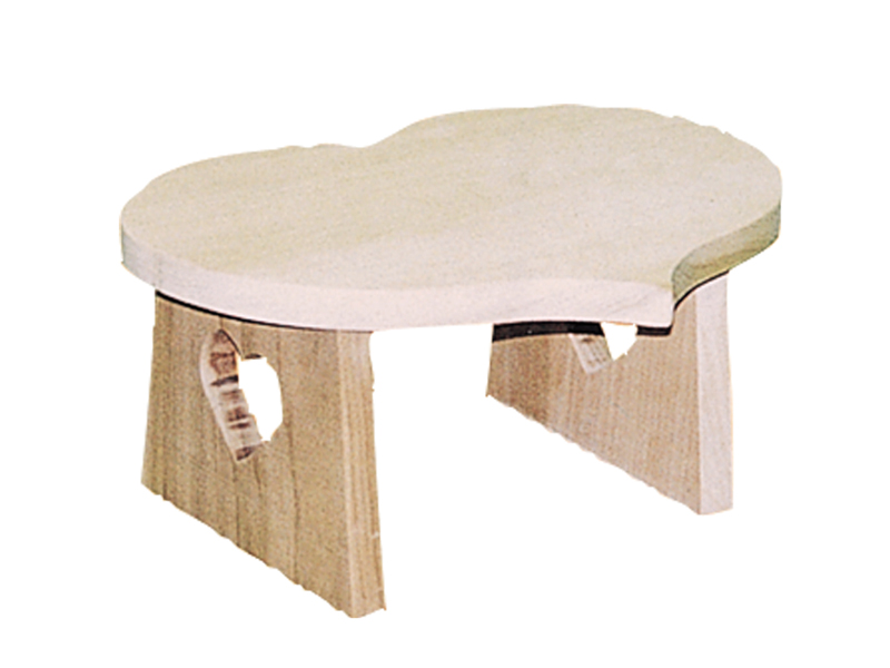 Building Plans Front of Home Heart Shaped Stool 002D-1535 | House Plans and More