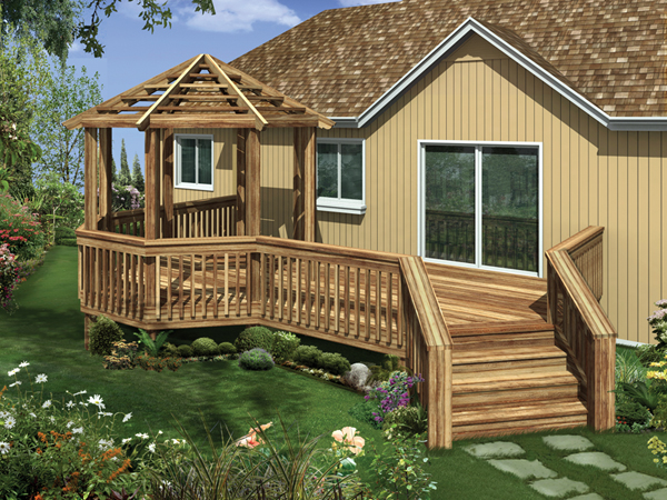 Wooden deck gazebo plans pdf plans for Gazebo house plans