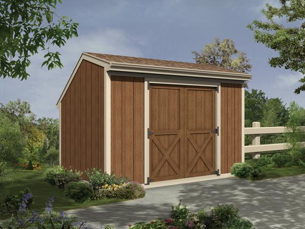 Monessen salt box storage sheds plan 002d 4500 house for Saltbox garden shed plans