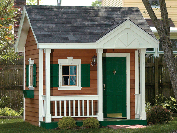 Children s playhouse floor plans woodworktips for Playhouse with garage plans