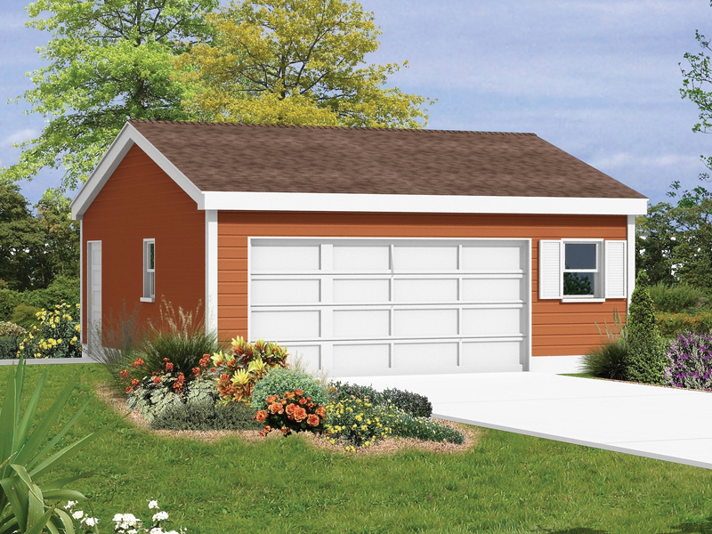 Cadewyn Reverse Gable Garage Plan 002d 6008 House Plans