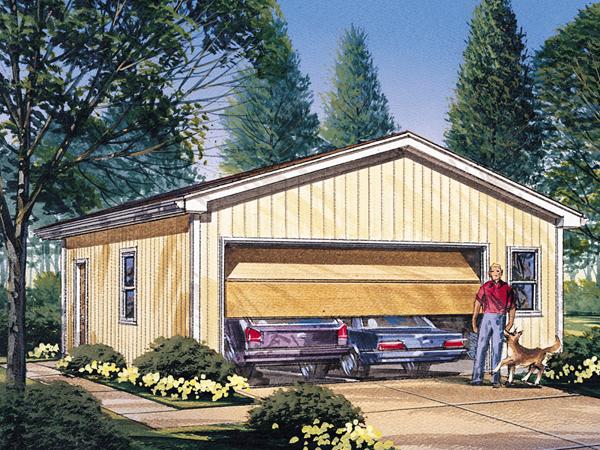 Koral 2 Car Garage Plan 002d 6016 House Plans And More