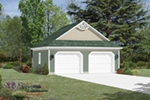 Building Plans Front Photo 01 - 002D-6018 | House Plans and More