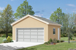 Economical two-car garage is an easy-to-build choice