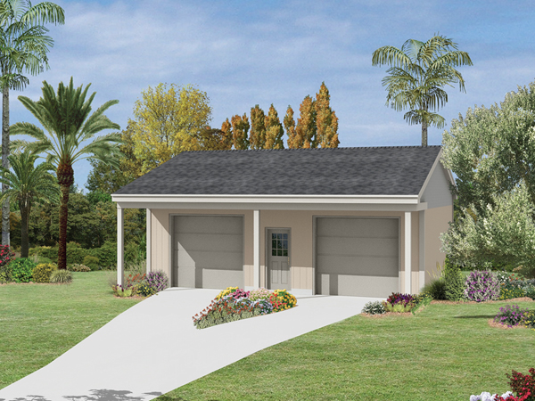 Orchard Hill Garage With Porch Plan 002D-6041   House ...