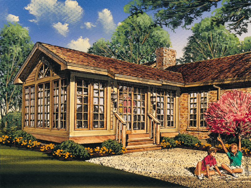 Building Plans Front of Home 002D-7504 | House Plans and More