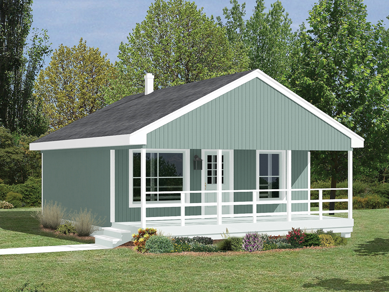 Building Plans Front of Home 002D-7508 | House Plans and More