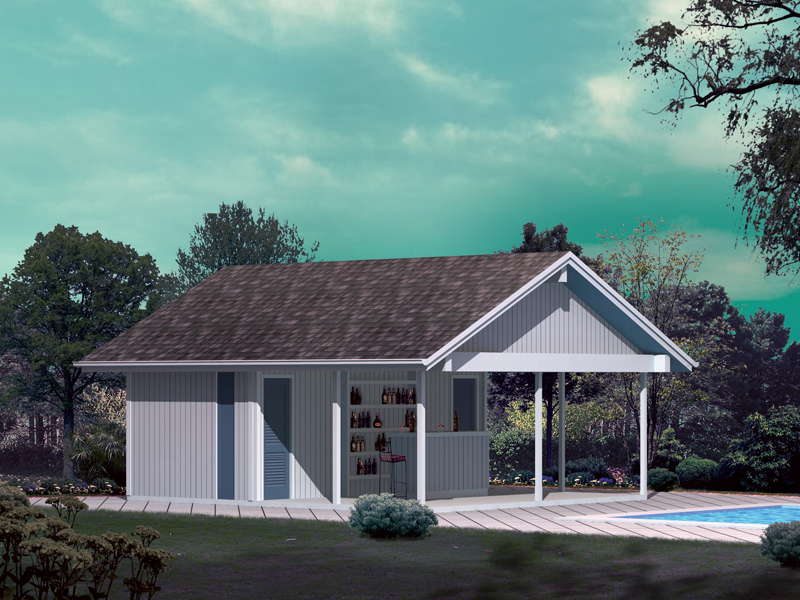Building Plans Front of Home 002D-7523 | House Plans and More