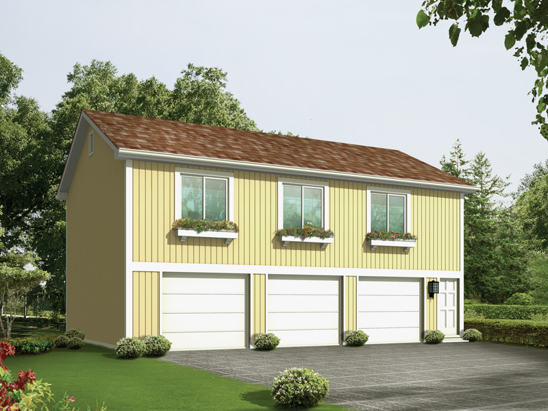 Simple Garage Plans With Apartment Above