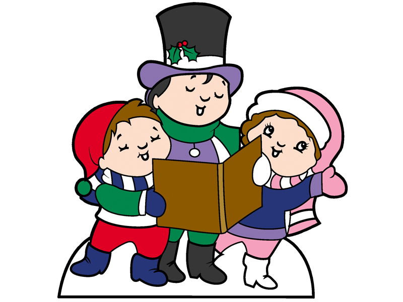 Country Plan Front of Home Caroler Kids