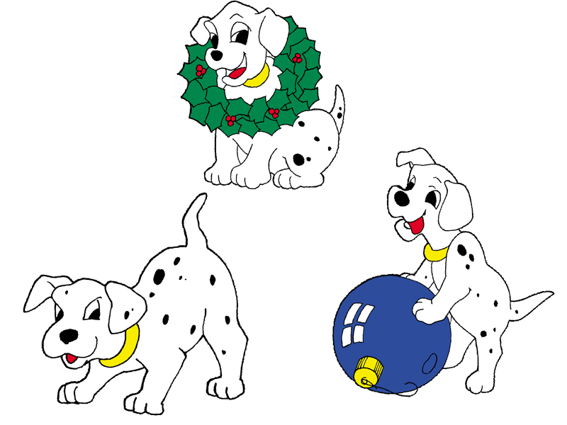 Traditional Plan Front of Home Puppies with Wreath