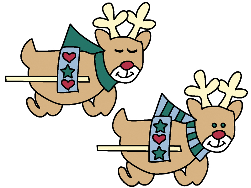 Country reindeer yard art pattern coordinate perfectly with the snowman in sleigh