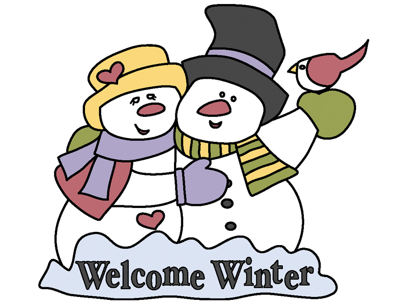 Welcome winter is a great yard art pattern that can be displayed all season long