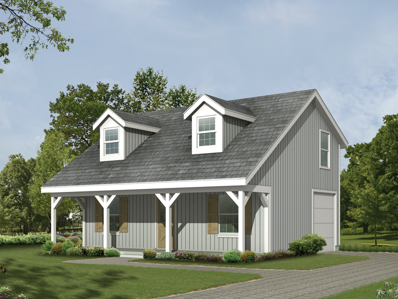 Building Plans Front of Home 005D-7500 | House Plans and More