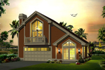 Country House Plan Front of Home - 007D-0245 | House Plans and More