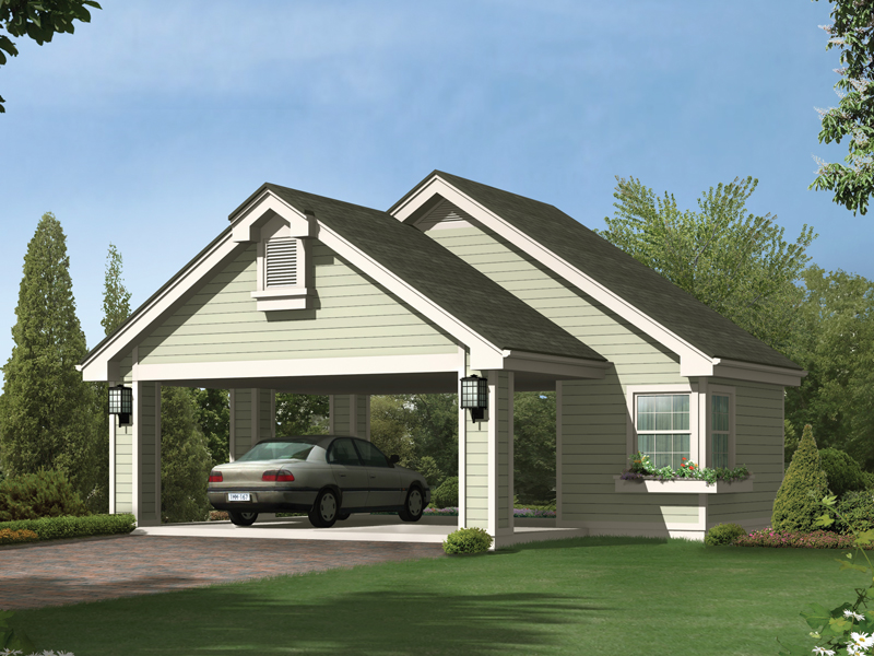 Gilana carport with storage plan 009d 6004 house plans for House with carport