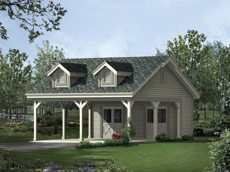 Glenna 2 car carport plan 009d 6015 house plans and more for House plans with carport
