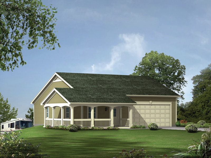 Building Plans Front of Home 009D-6019 | House Plans and More