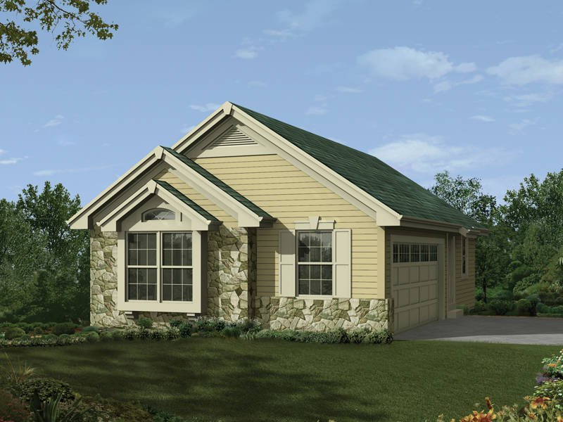Building Plans Front of Home 009D-7523 | House Plans and More