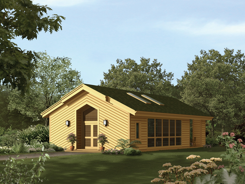 Building Plans Front of Home 009D-7530 | House Plans and More