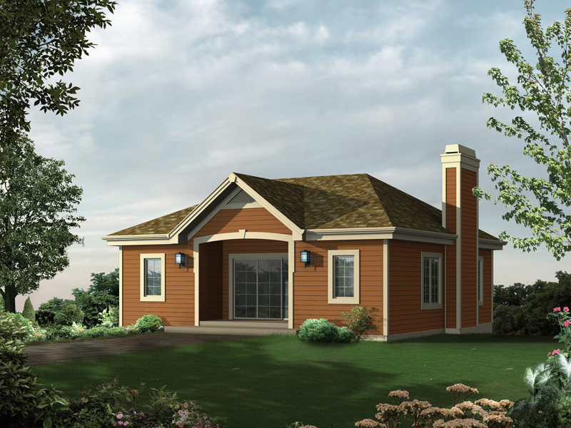 Building Plans Front of Home 009D-7533 | House Plans and More