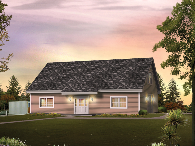 Building Plans Front of Home 009D-7534 | House Plans and More