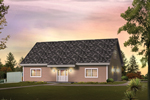 Building Plans Front of Home - 009D-7534 | House Plans and More