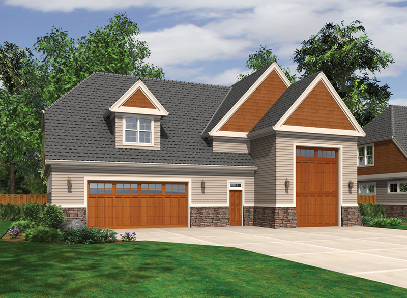 Building Plans Front of Home -  012D-6008 | House Plans and More