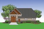 Building Plans Rear Photo 01 -  012D-6008 | House Plans and More