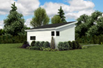 Building Plans Side View Photo 01 - Morrow Modern Studio 012D-7508 | House Plans and More