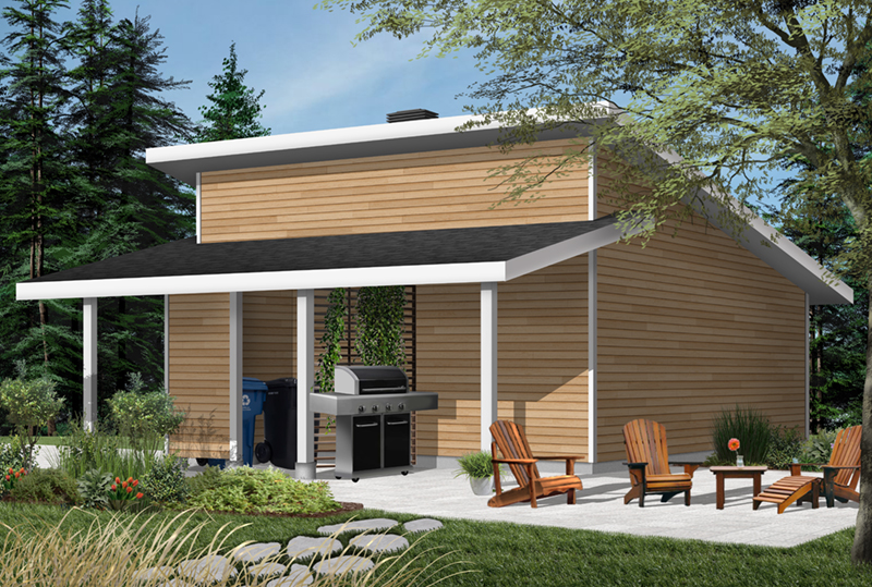 Building Plans Front of Home - 032D-1017 | House Plans and More