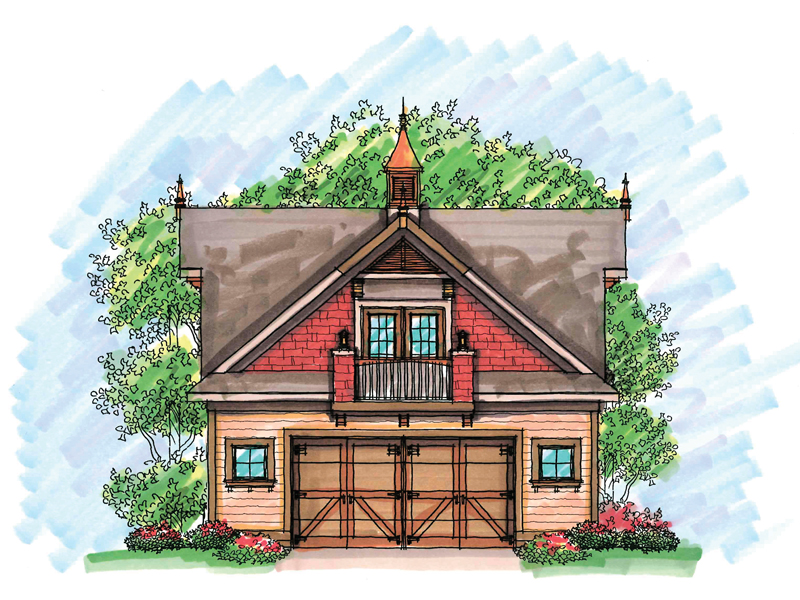 Building Plans Front of Home - 051D-0613 | House Plans and More