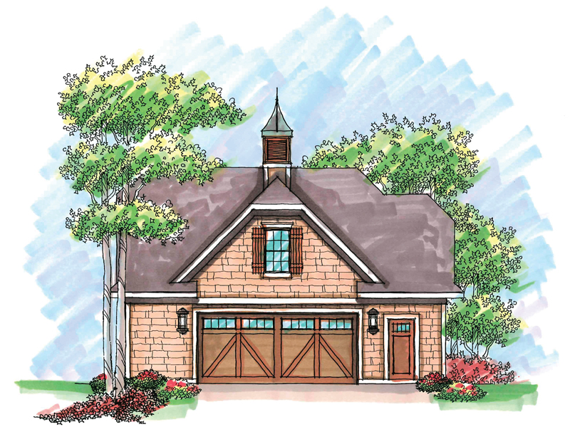Building Plans Front of Home - 051D-0614 | House Plans and More