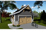 Building Plans Front of Home - 051D-0916 | House Plans and More