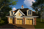 Building Plans Front of Home - 051D-0918 | House Plans and More