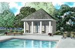 Building Plans Front of Home - 055D-1027 | House Plans and More