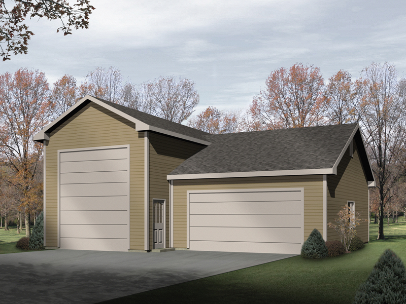 Kira rv and boat storage garage plan 059d 6000 house for House plans with rv storage