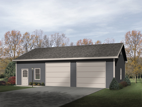 Calanthe 2 car garage plan 059d 6001 house plans and more for 10x9 garage door
