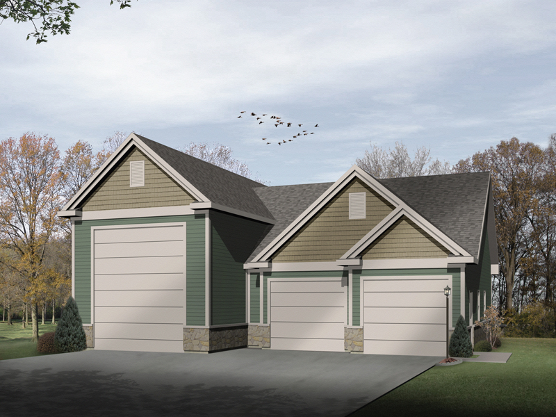 Lyric Two Car And Rv Garage Plan 059d 6015 House Plans