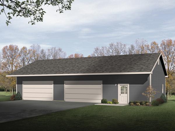 Lumina four car garage and shop plan 059d 6041 house for Four car garage house plans