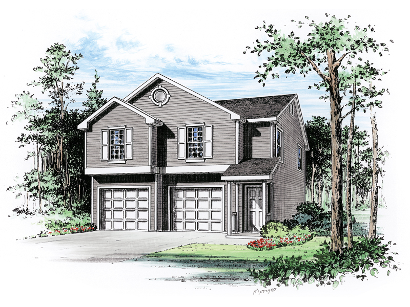 payton two car garage apartment plan 059d 7503 house