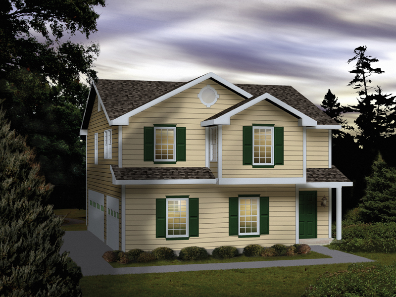 Lena park 3 car garage apartment plan 059d 7507 house for 3 stall garage with apartment