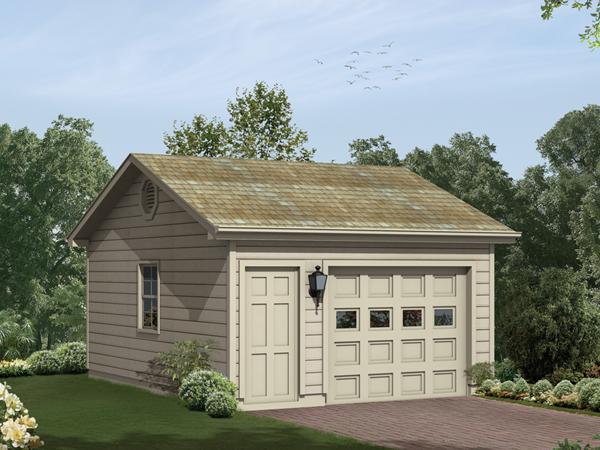 Single garage drawings for 1 car garage plans