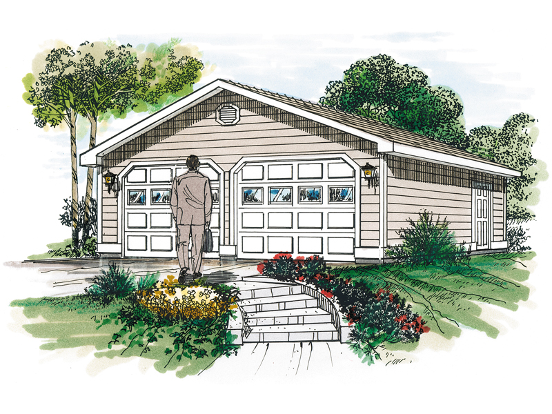Building Plans Front of Home 063D-6013 | House Plans and More