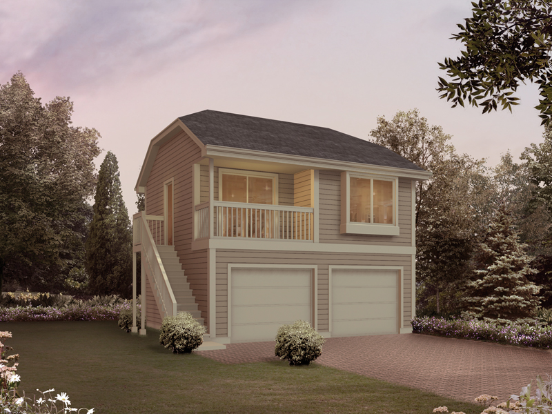 Two-Story Garage Apartment Plans | 2-Story Garage Apartment Plans