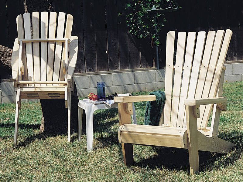 Building Plans Front of Home Folding Adirondack Chair 066D-0008 | House Plans and More