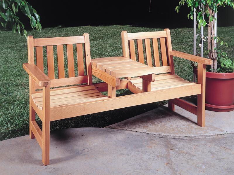 outdoor wooden furniture plans